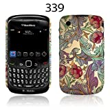TaylorHe Vintage Style Vines and Floral Blackberry Curve 8520 Hard Case Colourful with Patterns Full Body Printed Made in Great Britain Top Quality