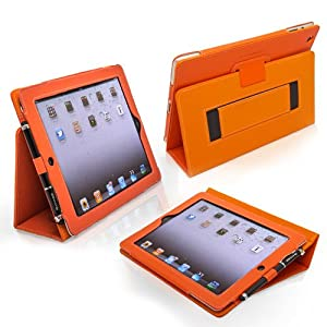 Snugg Orange colored iPad 3 Case