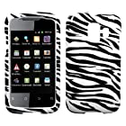 MYBAT HWU8665HPCIM056NP Slim and Stylish Protective Case for the Huawei Fusion 2 U8665 - Retail Packaging - Zebra Skin