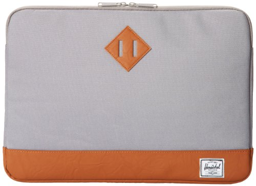Civilian Pro-Manila 15-Inch Leather Laptop Sleeve//Case Custom Fitted for Aluminum MacBook Pro Yellow