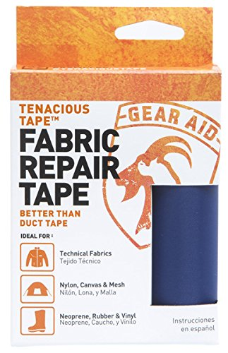 Gear Aid Tenacious Tape for Fabric Repair, Dark Blue (Boat Canvas Repair Kit compare prices)