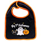 My First Halloween Ghost Bib