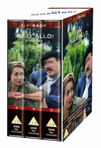 'allo 'allo - Series 3 and 4 [VHS] [1982]