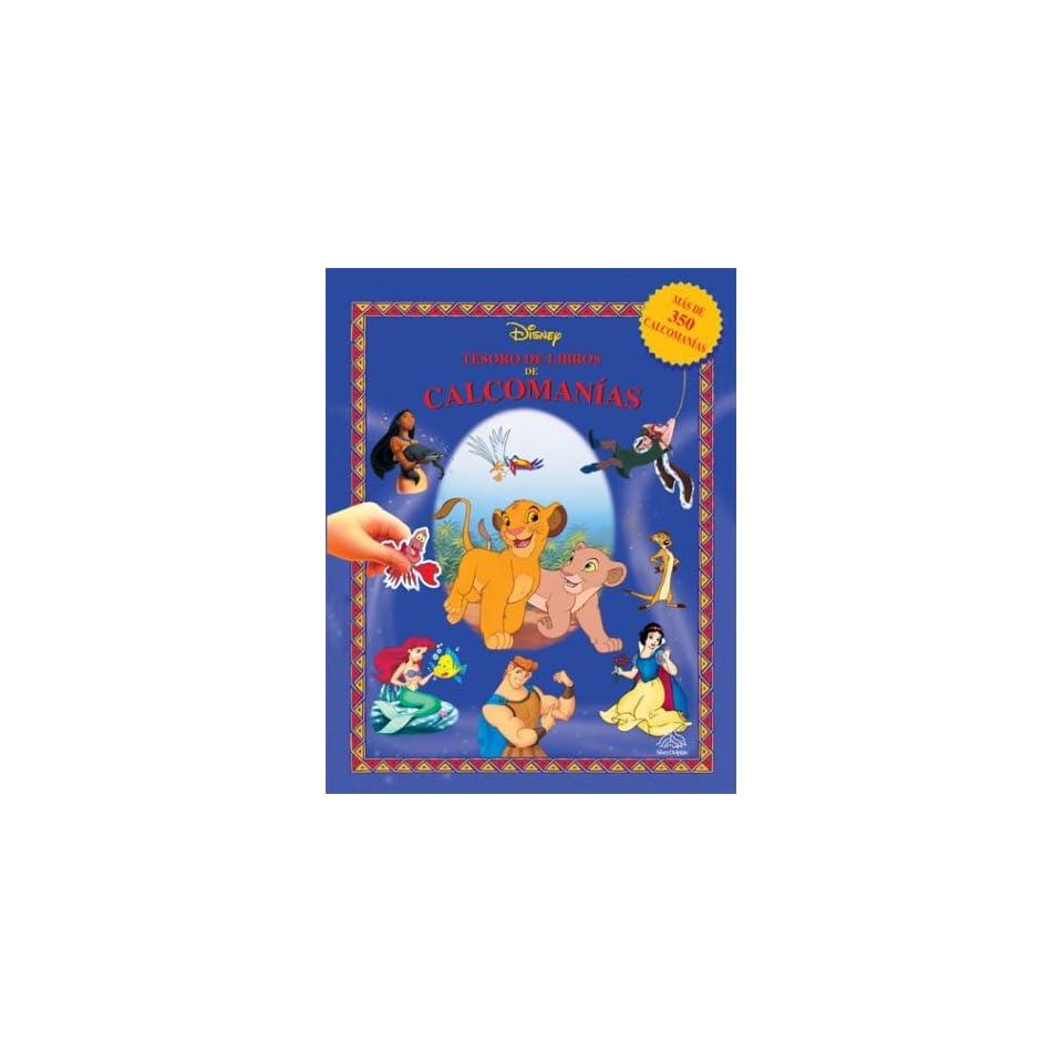 Tesoro de libros de calcomanías (Disney Sticker Book Treasury, Spanish Edition)