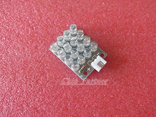 Happy Fly Shop 5Mm White Led Lamp Panel Diy Kit Light Emitting Diode Lamp Plate