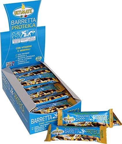 Ultimate Italia BARREB01 Barretta Proteica - 24 Pezzi