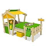 WICKEY-CrAzY-Candy-Kinderbett-Jugendbett-90x200cm-GELB-APFELGRN-mit-Lattenboden