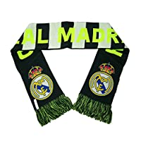 Real Madrid Official EUROPE 64 inch Team Logo Scarf by Rhinox 045466