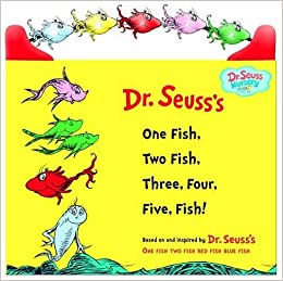 One fish two fish three four five fish dr for One fish two fish book