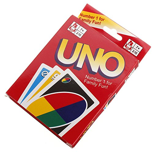 NEW UNO Standard 108 English Fun Cards Game For Family