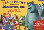 Disney Pixar Monsters, INC. Play & Print