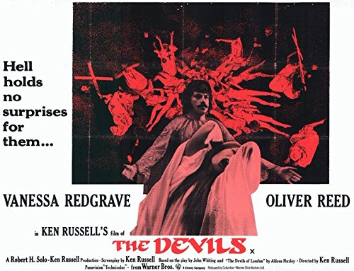 The Devils POSTER Movie (1971) Style H 11 x 14 Inches - 28cm x 36cm (Vanessa Redgrave)(Oliver Reed)(Dudley Sutton)(Max Adrian)(Gemma Jones)(Murray Melvin)(Michael Gothard) (The Devil Poster compare prices)