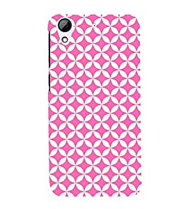 Triangle Art Pattern 3D Hard Polycarbonate Designer Back Case Cover for HTC Desire 626 G::HTC Desire 626G Plus::HTC Desire 626G+