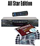 All Star Edition VocoPro DVX-890k FREE Music (150.00 Value) 10 Chartbuster Discs, 12 Song Custom, feat. Walt Disney and More! The 12 Song Custom Card has over 7000 songs to choose from!!! (That's over 130 Songs)