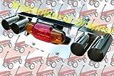 WagonWorld ORIGINAL ラジオフライヤー用バイクプレートステーWマフラーデラックス