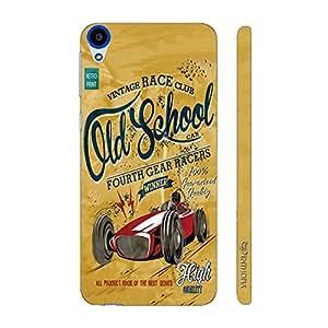 Enthopia Designer Hardshell Case Old School Back Cover for HTC Desire 820