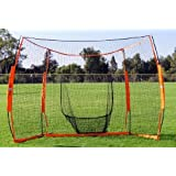 Baseball Softball Portable Back Stop Catch Bownnet Hitting Station by Bow Net