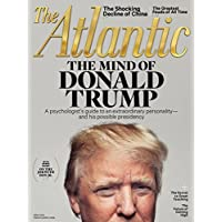 1-Year (10 Issues) of The Atlantic Magazine Subscription