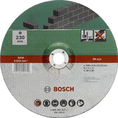bosch-linea-hobby-2609256327-mola-da-taglio-a-gomito-pietra-230-mm-oe-x-3-mm