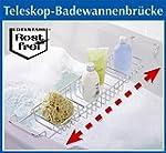 WENKO Badewannenablage Edelstahl - au...