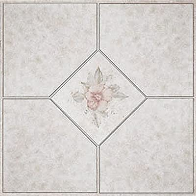 Home Dynamix Vinyl Tile 1002 Beige/ Pink 1 Box 30 Square Feet from Home Dynamix