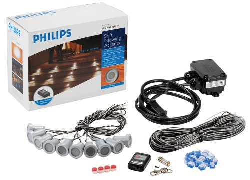 led deck light kit white buy philips aurelle 10 led deck light kit
