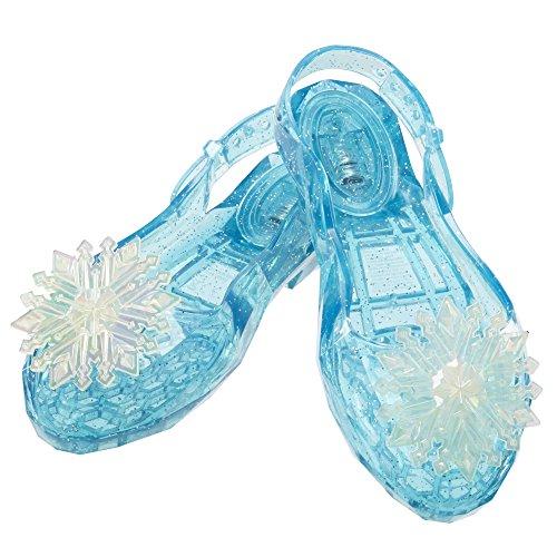 Frozen Elsa Blue Jelly Shoes