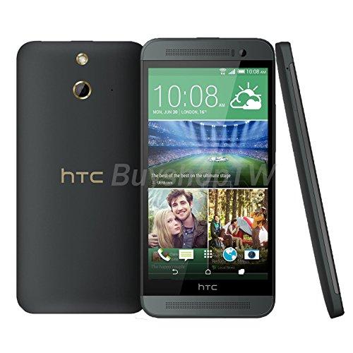 "New HTC ONE E8 16GB 4G LTE (Unlocked) 13MP 5"" Single SIM Nano SIM Grey"
