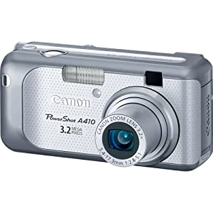 Canon Powershot A410 3.2MP Digital Camera with 3.2x Optical Zoom (OLD MODEL)