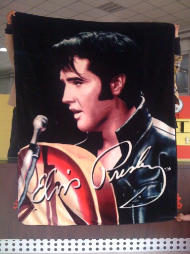 Elvis Presley Luxury Plush Blanket Queen Size