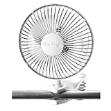 Air King 9145 6-Inch 2-Speed Clip-On Fan ~ Air King