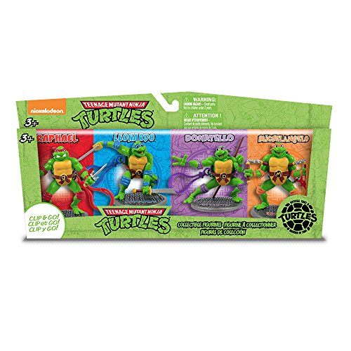 JAMN Products TMNT Figurines Set (4-Piece) - 1
