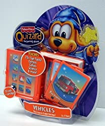 Quizard Vehicles Card Pack