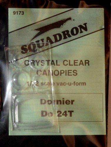 Squadron Products Dornier Do 24 Vacuform Canopy