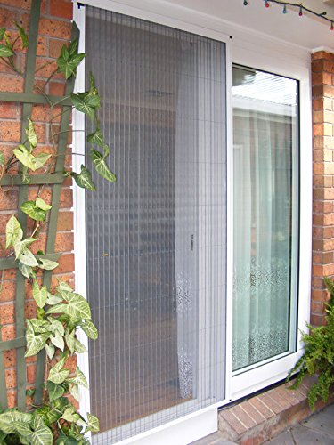 Greenweb accordion screen door 40 inch by 84 inch diy kit for Accordion retractable screen doors