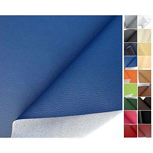 TOLKO-Polsterstoffe-Kunstleder-Meterware-in-Blau-als-robuster-PREMIUM-Bezugsstoff-Mbelstoff