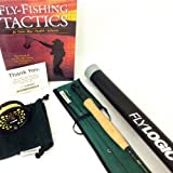 Fly Logic 5 Weight Fishing Rod Reel Line Combo Kit Complete Outfit with Instruction Guide