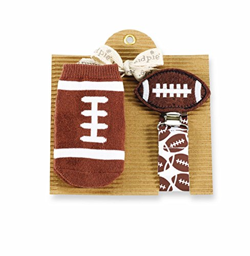 Mud Pie Football Sock and Pacy Set - 1