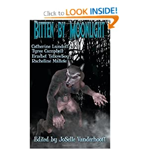 Cover for Bitten by Moonlight.