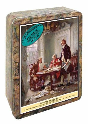 Channel Craft Puzzle Tin Declaration of Independence 550 Piece Jigsaw Puzzle