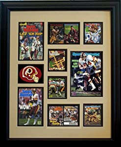 Washington Redskins Sports Illustrated Ultimate Moments Collage by Framed Sport Prints