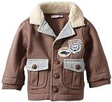 Vitamins Baby Boys Newborn Jacket Cardigan Vintage Cool, Brown, 6 Months