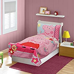 Peppa Pig Adoreable Toddler Bed Set