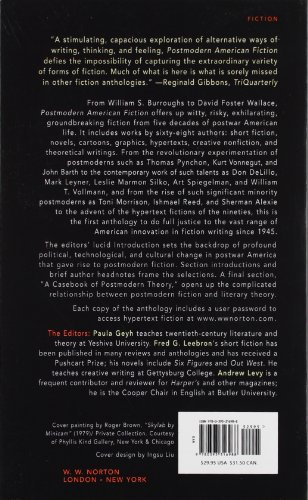 Postmodern American Fiction: A Norton Anthology (Open Market Edition)
