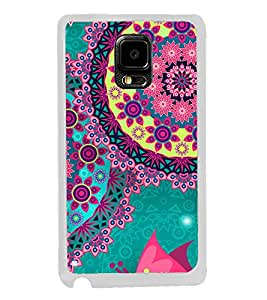 Bright Colourful Pattern 2D Hard Polycarbonate Designer Back Case Cover for Samsung Galaxy Note Edge :: Samsung Galaxy Note Edge N915FY N915A N915T N915K/N915L/N915S N915G N915D