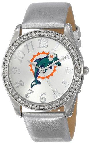 "Game Time Women'S Nfl-Gli-Mia ""Glitz"" Watch - Miami Dolphins"