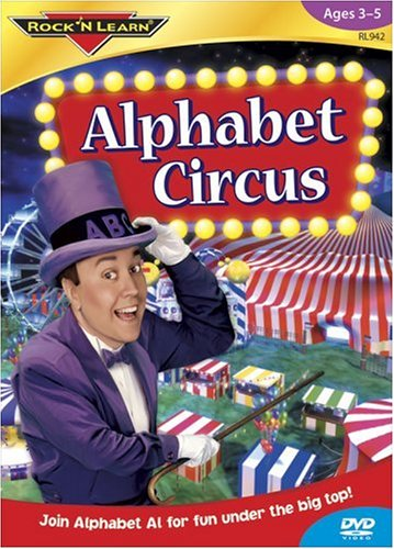 Rock N Learn: Alphabet Circus [DVD] [2004] [Region 1] [US Import] [NTSC]