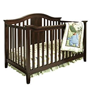 Amazon.com : Dorel Asia Lewis 4-in-1 Convertible Crib (Discontinued by