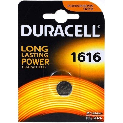 Pile-bouton lithium Duracell DL1616 (1 unité sous blister)