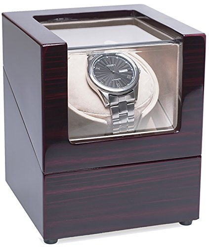 CHIYODA-Wood-Handmade-Single-Watch-Winder-with-Quiet-Motor-8-Speed-Modes